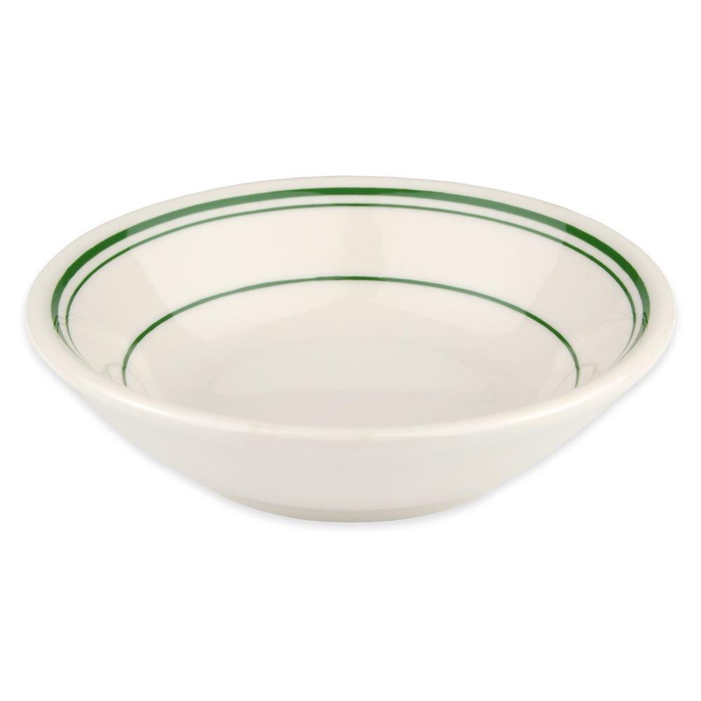 Homer Laughlin 1631 6-oz Fruit Bowl - China, Ivory w/ Green Band