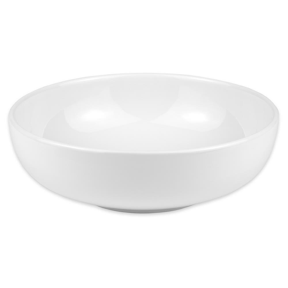 Homer Laughlin 18510000 68 oz Bistro Bowl - China, Arctic White