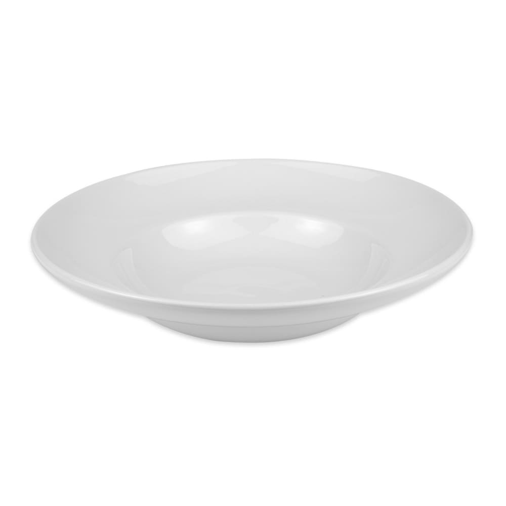 Homer Laughlin 18910000 22 oz Mediterranean Bowl - China, Arctic White
