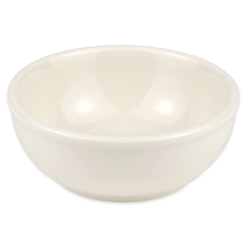 Homer Laughlin 19400 11-oz Nappy Bowl - China, Ivory