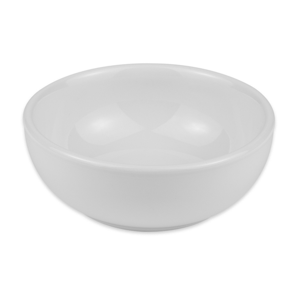 Homer Laughlin 19410000 11-oz Nappy Bowl - China, Arctic White