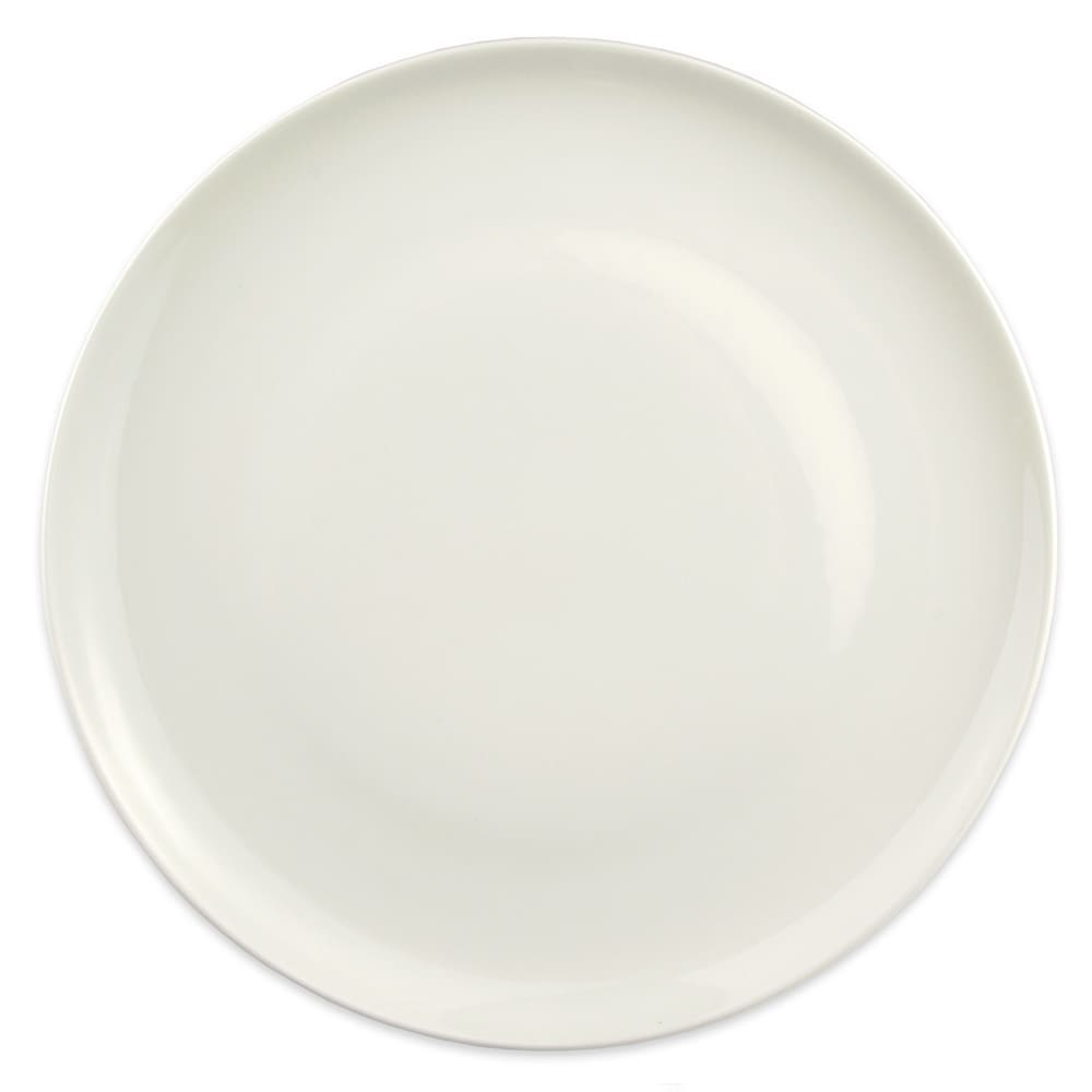 "Homer Laughlin 20126800 12.25"" Round Alexa Service Plate - China, Ameriwhite"