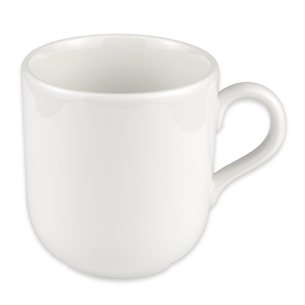 Homer Laughlin 20256800 14-oz Alexa Mug - China, Ameriwhite