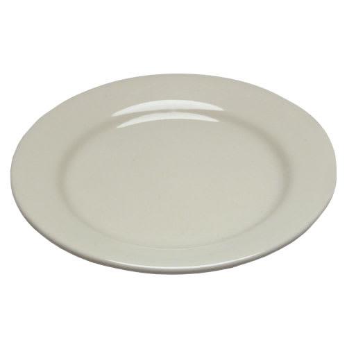 "Homer Laughlin 20400 8.25"" Round Plate - China, Ivory"
