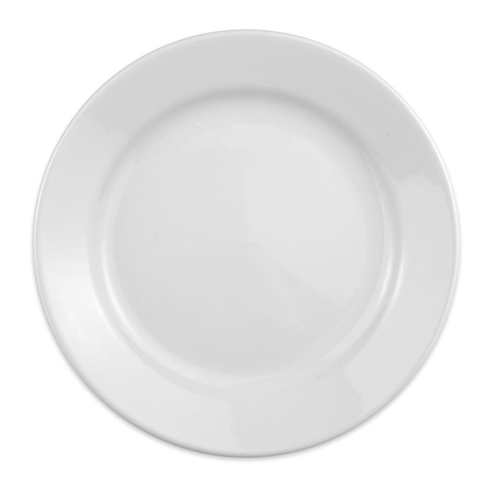 "Homer Laughlin 20510000 9"" Round Plate - China, Arctic White"