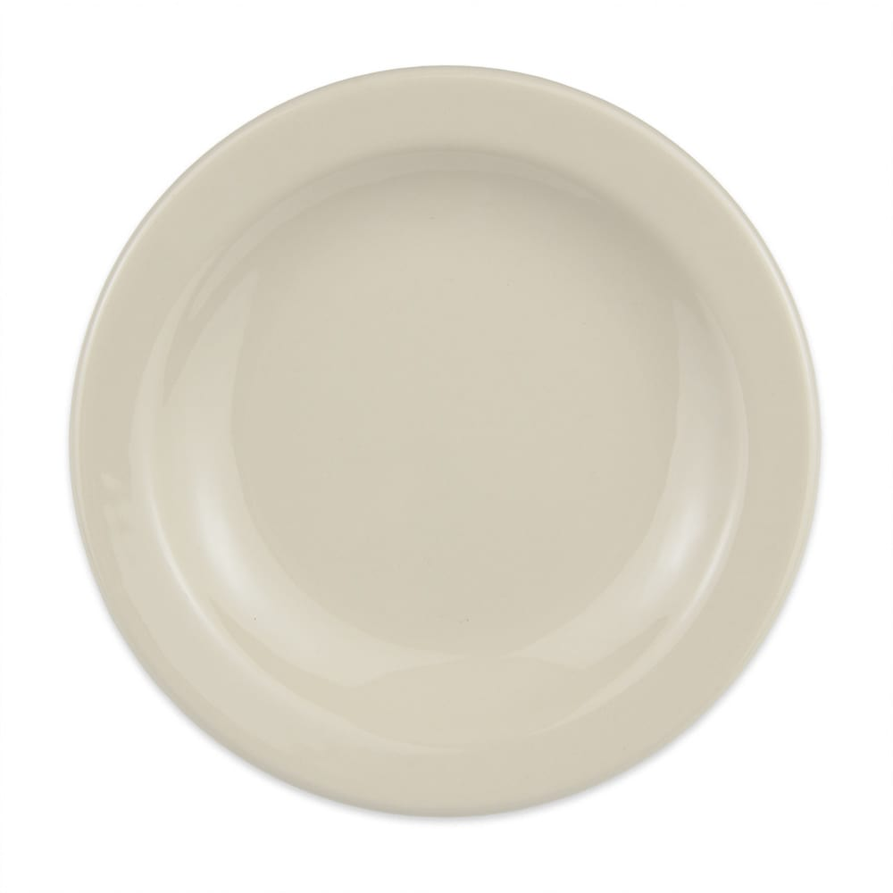 "Homer Laughlin 21100 5.5"" Round Plate - China, Ivory"