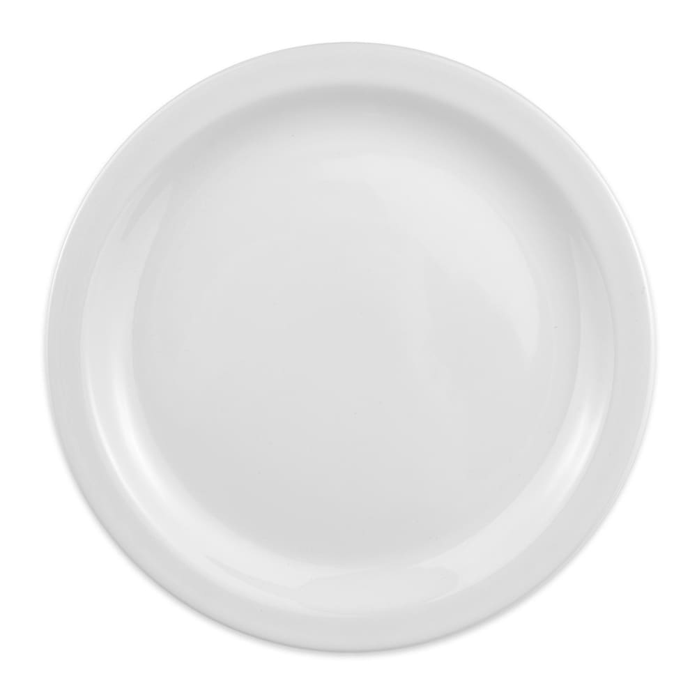 "Homer Laughlin 21710000 10.5"" Round Plate - China, Arctic White"