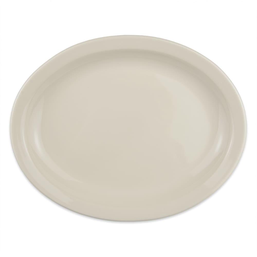"Homer Laughlin 26000 11.38"" Oval Platter - China, Ivory"