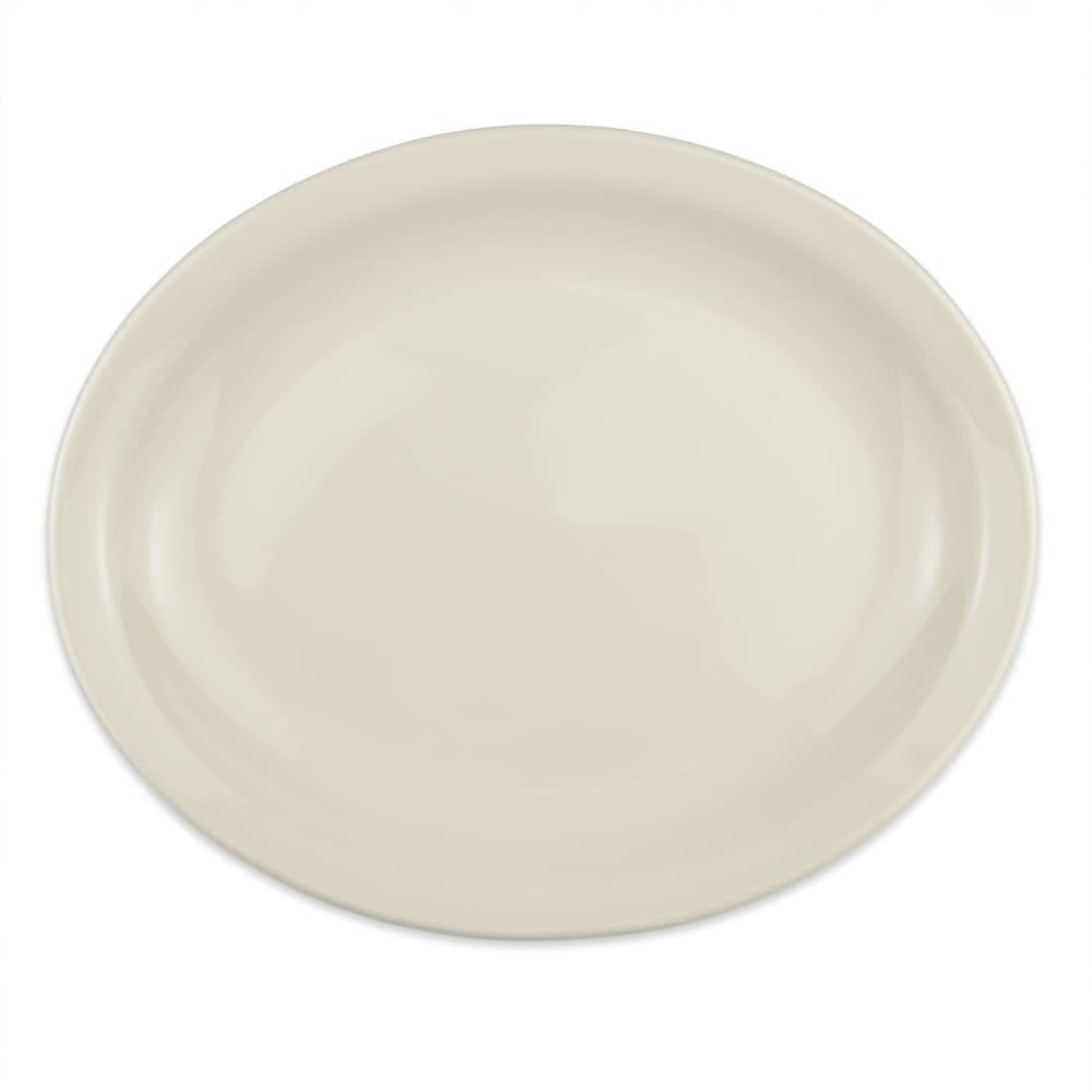 "Homer Laughlin 26200 12.5"" Oval Platter - China, Ivory"