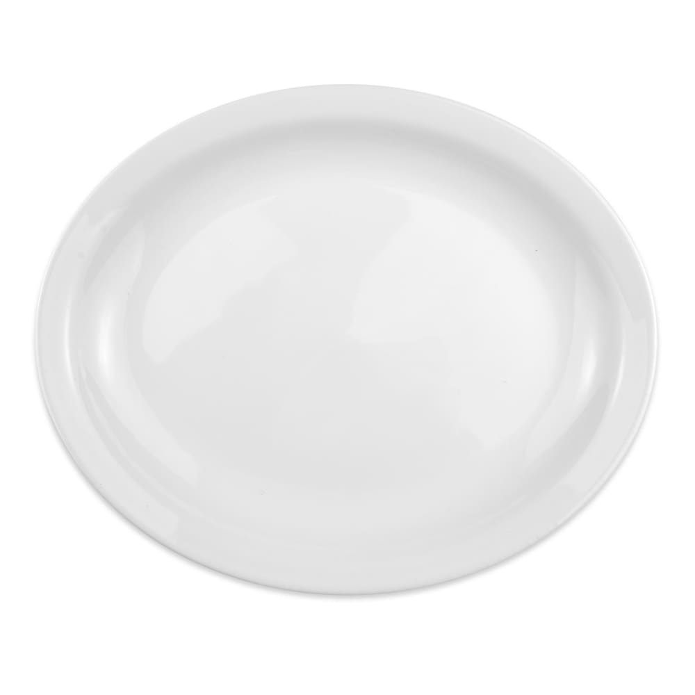 "Homer Laughlin 26210000 12.5"" Oval Platter - China, Arctic White"