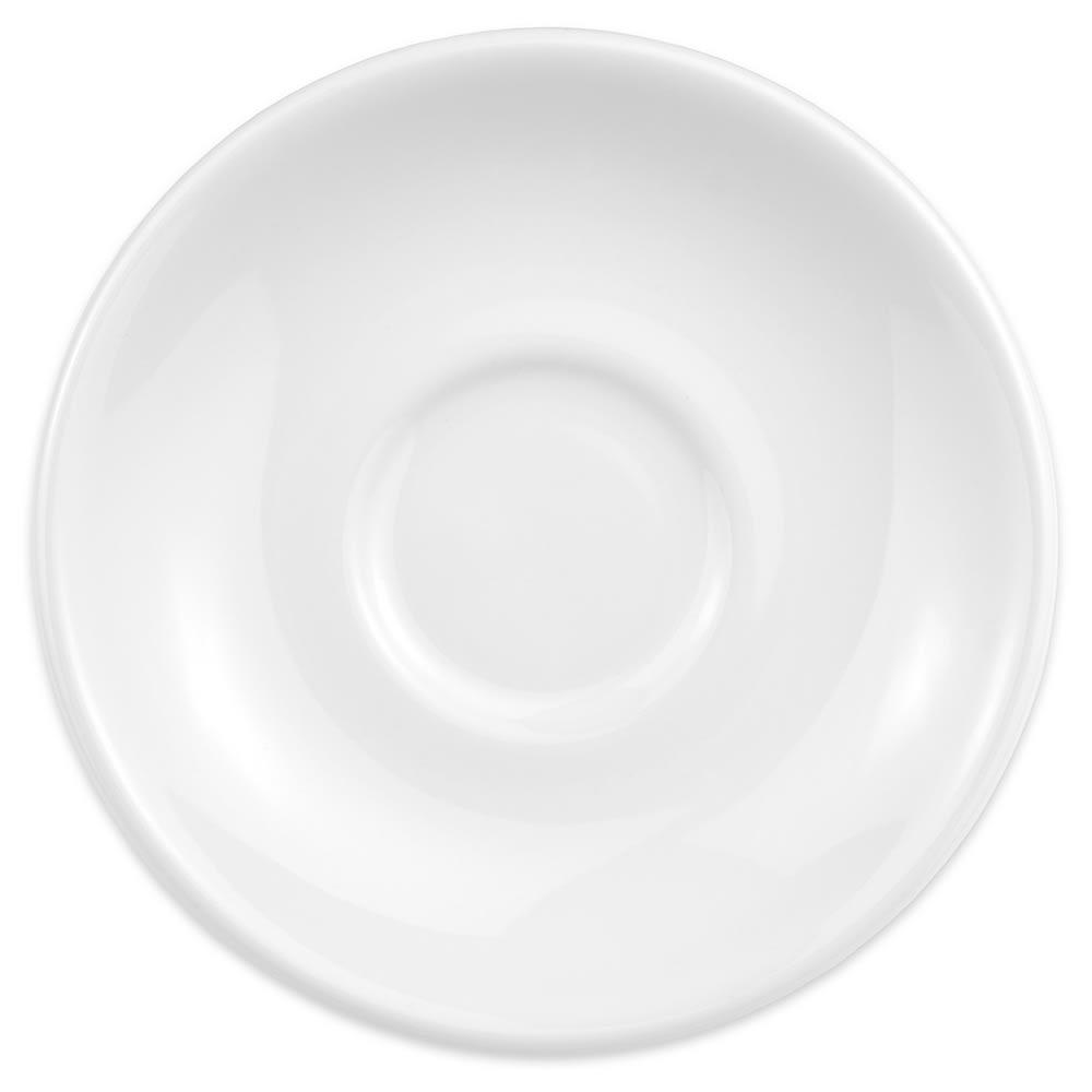 "Homer Laughlin 28210000 6"" Boston Saucer - China, Arctic White"