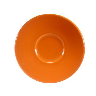 "Homer Laughlin 293325 6.75"" Colorations Saucer - China, Tangerine"