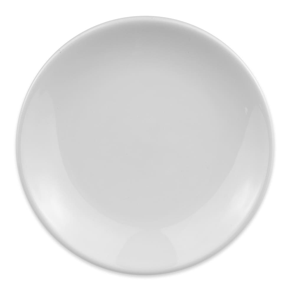 "Homer Laughlin 30310000 5.5"" Empire Round Plate - China, Arctic White"