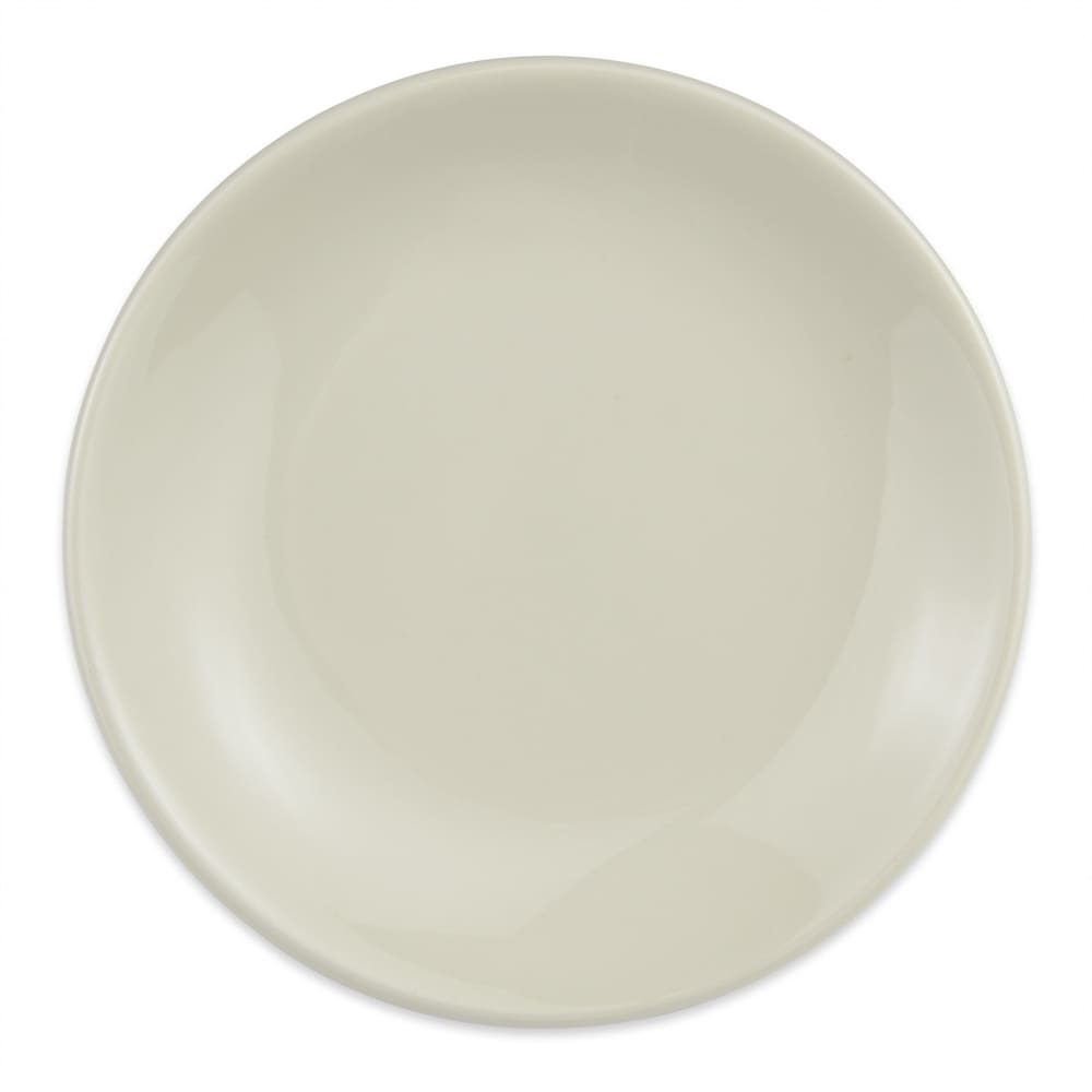 "Homer Laughlin 30400 6.5"" Empire Round Plate - China, Ivory"
