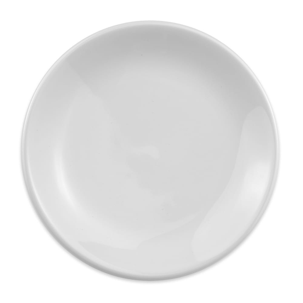 "Homer Laughlin 30510000 7.13"" Empire Round Plate - China, Arctic White"