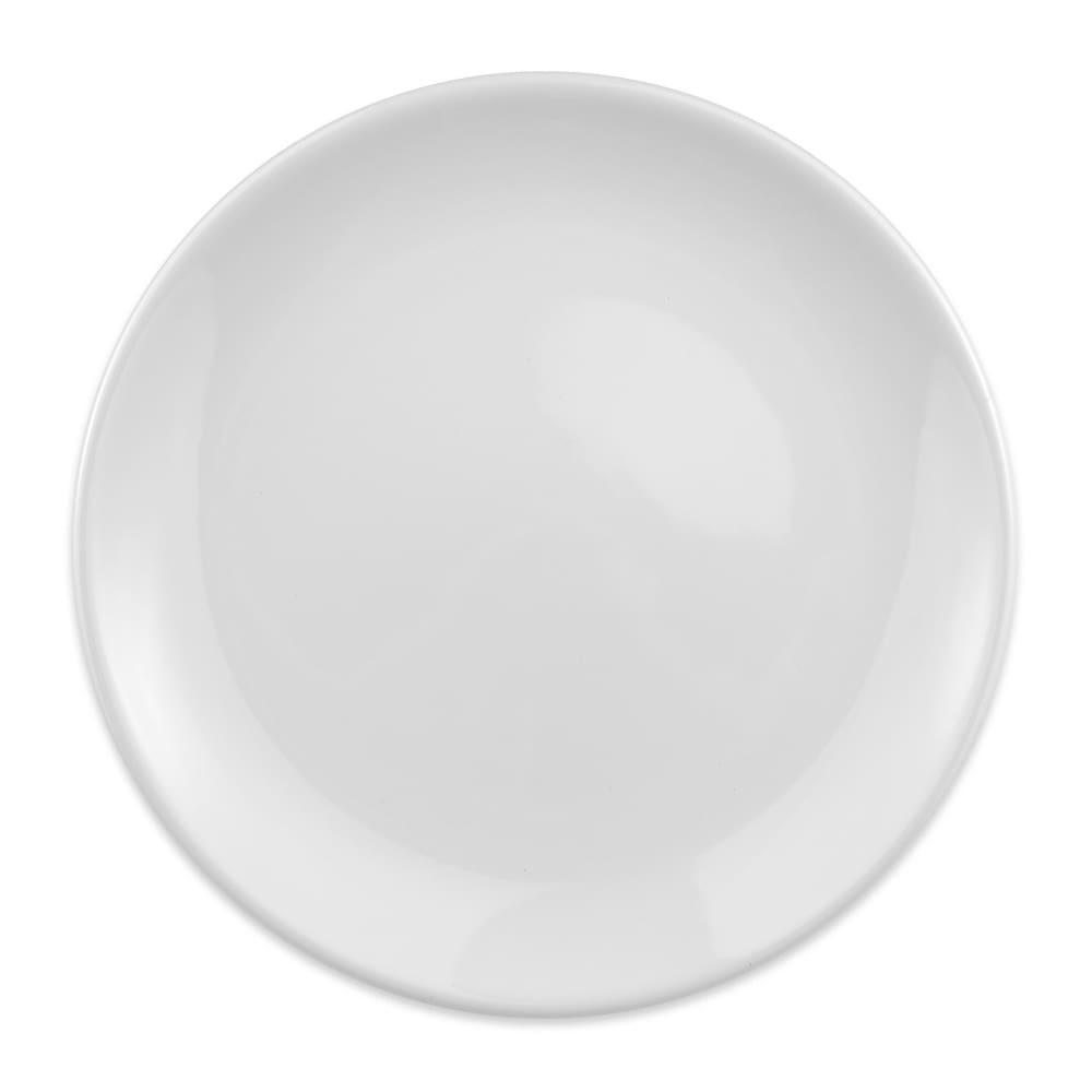 "Homer Laughlin 30810000 9.63"" Empire Round Plate - China, Arctic White"