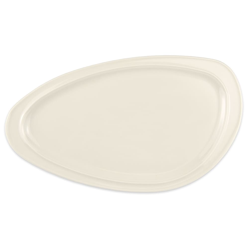 "Homer Laughlin 3104600 Oval Platter - 5.38"" x 3.38"", China, Ivory"