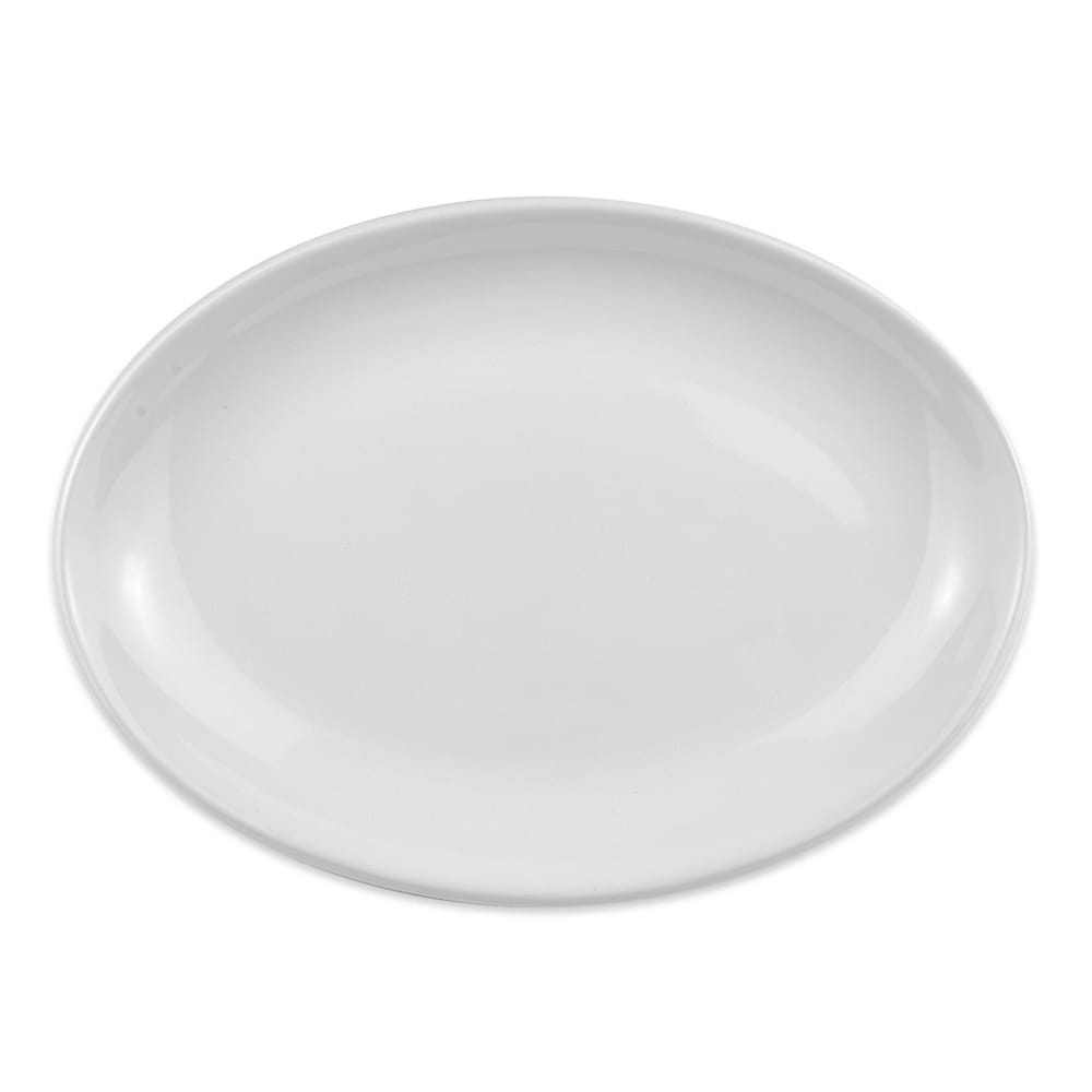 "Homer Laughlin 31110000 8.38"" Oval Empire Platter - China, Arctic White"