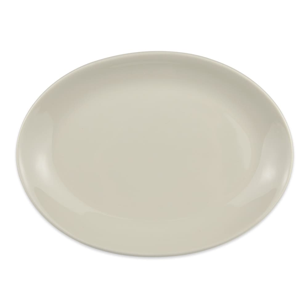 "Homer Laughlin 31200 10.63"" Oval Empire Platter - China, Ivory"