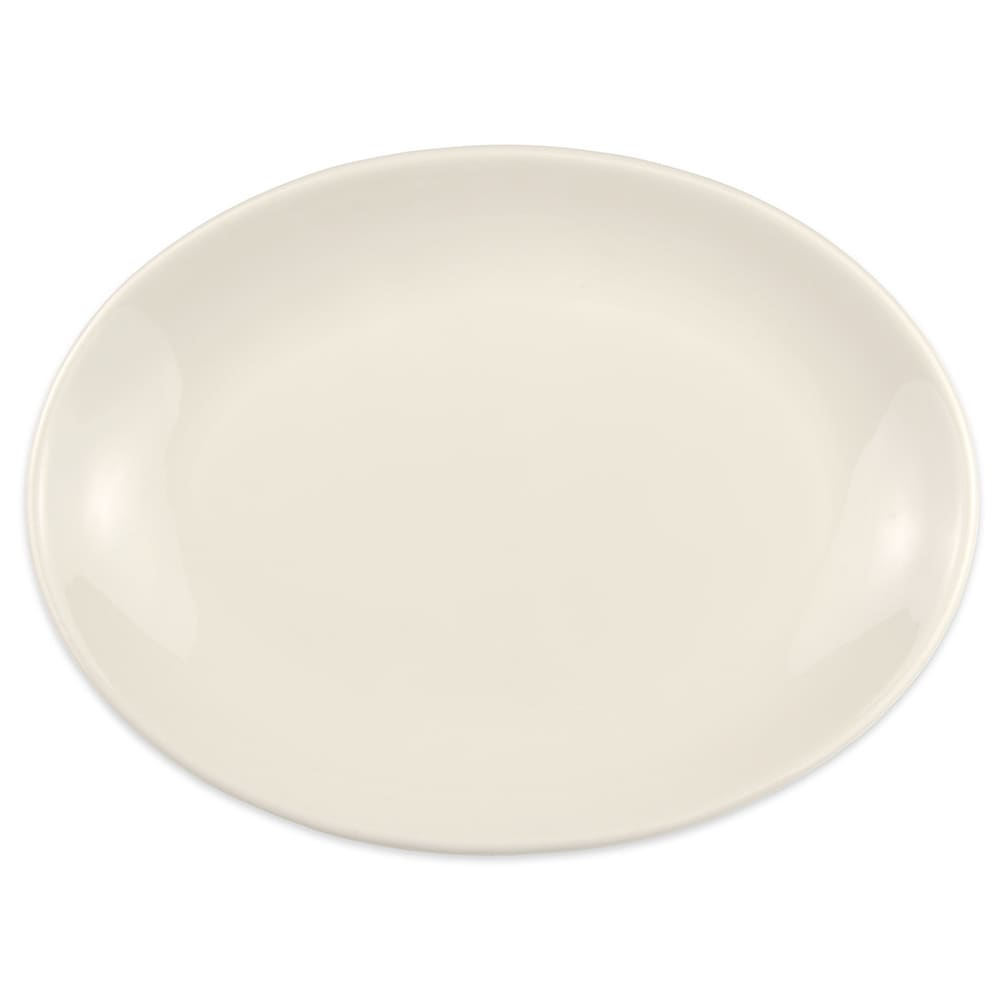 "Homer Laughlin 31300 11.5"" Oval Empire Platter - China, Arctic White"