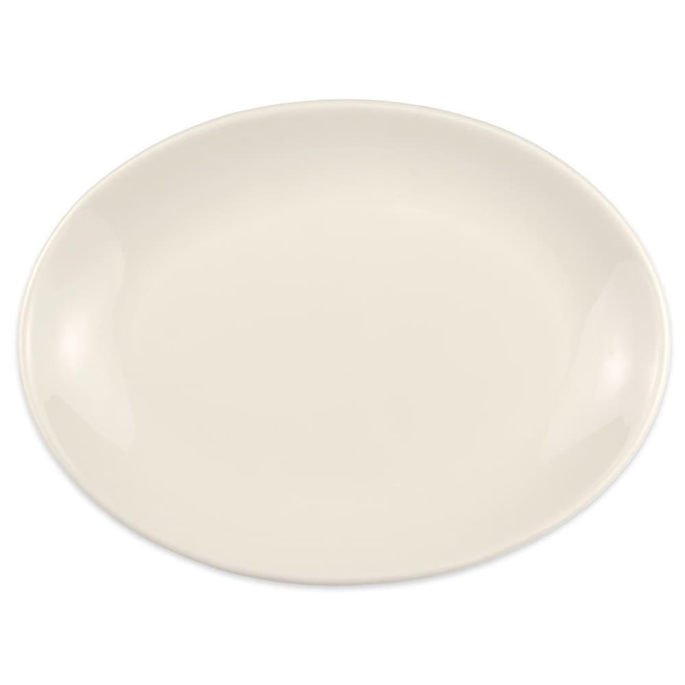 "Homer Laughlin 31300 11.5"" Oval Empire Platter - China, Ivory"