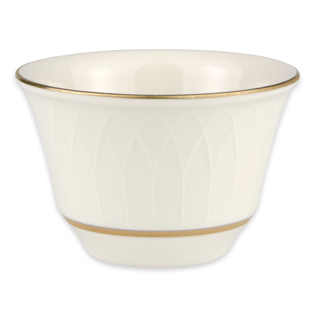 Homer Laughlin 3301420 7 oz Gothic Westminster Bouillon Bowl - China, Ivory