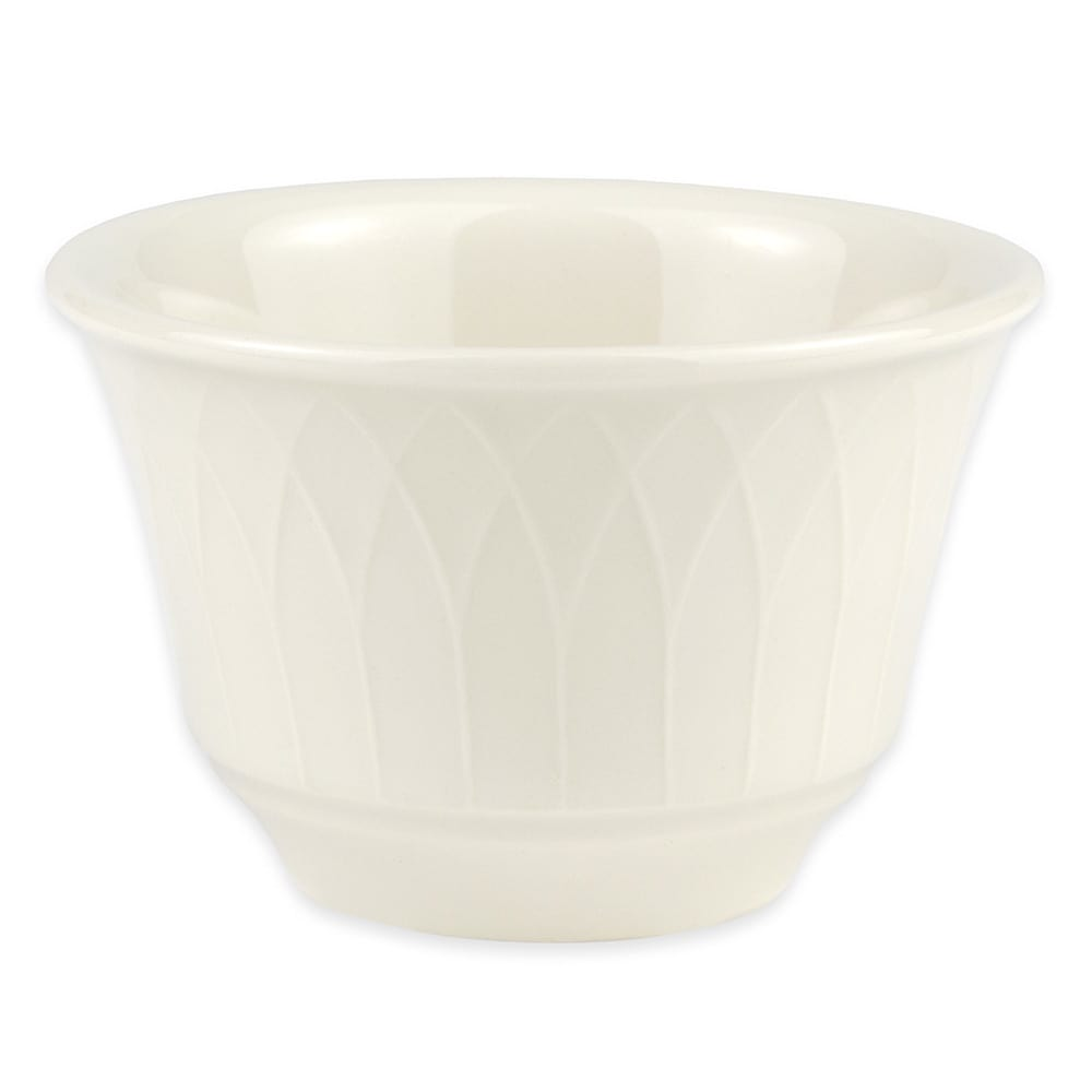 Homer Laughlin 3307000 7-oz Gothic Blanc Bouillon Bowl - China, Ivory