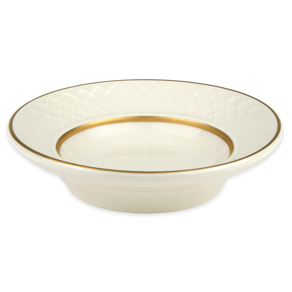 Homer Laughlin 3541420 2-oz Gothic Westminster Fruit Bowl - China, Ivory
