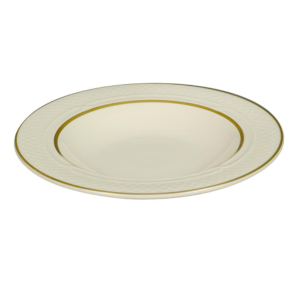 Homer Laughlin 3561420 10.5 oz Gothic Westminster Soup Bowl - China, Ivory