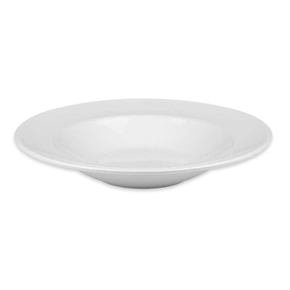 Homer Laughlin 44110000 16-oz Venetian Pasta Bowl - China, Arctic White