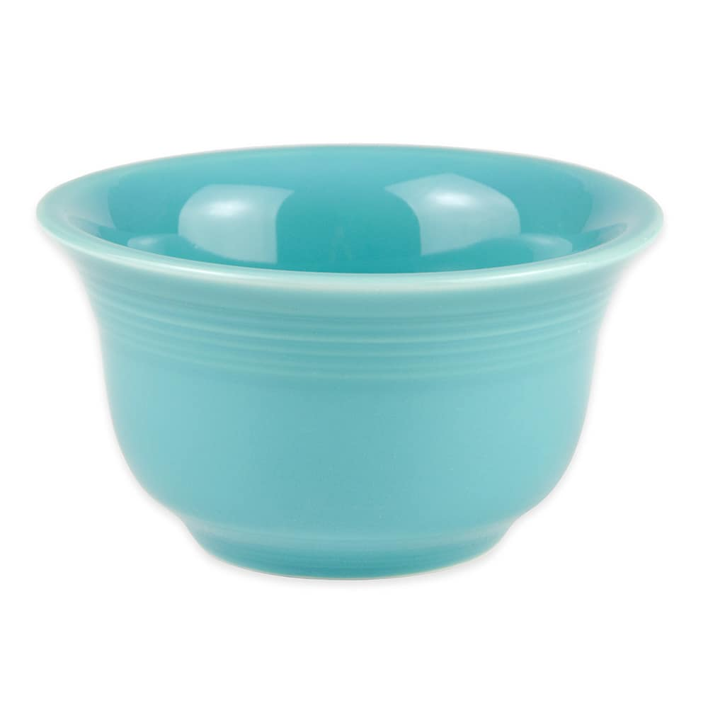 Homer Laughlin 450107 6.75 oz Fiesta Bouillon Bowl - China, Turquoise