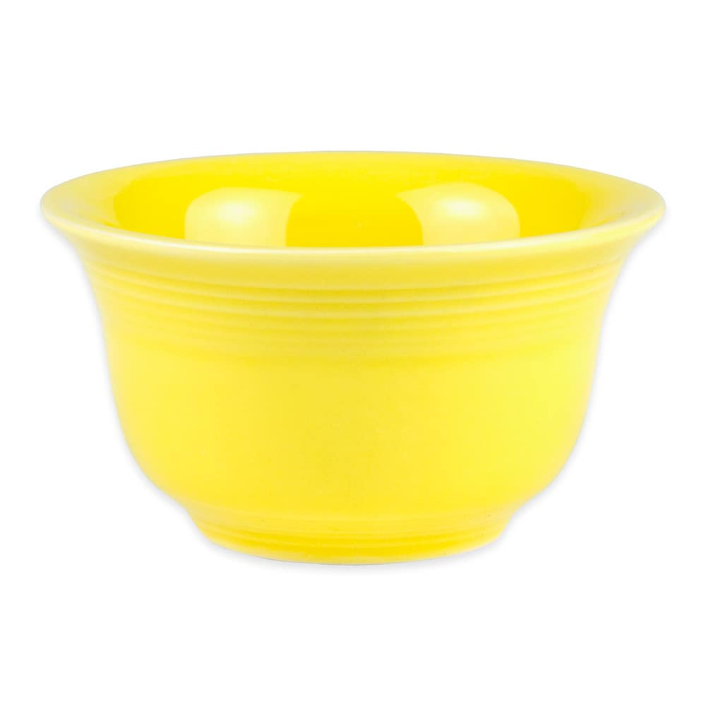 Homer Laughlin 450320 6.75 oz Fiesta Bouillon Bowl - China, Sunflower