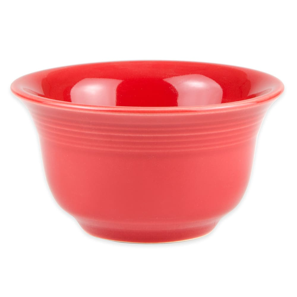 Homer Laughlin 450326 6.75 oz Fiesta Bouillon Bowl - China, Scarlet