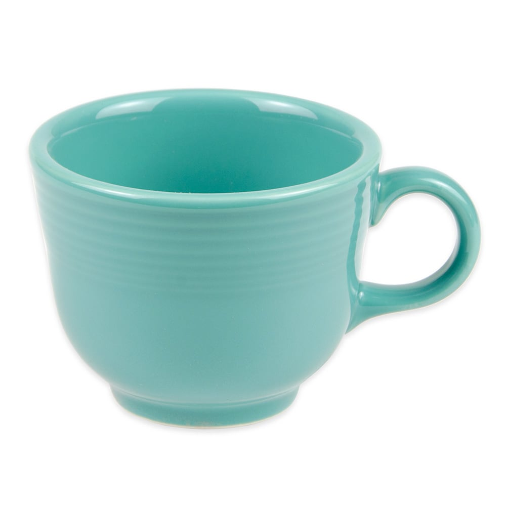c6e231fc239 Homer Laughlin 452107 7.75 oz Fiesta Cup - China, Turquoise
