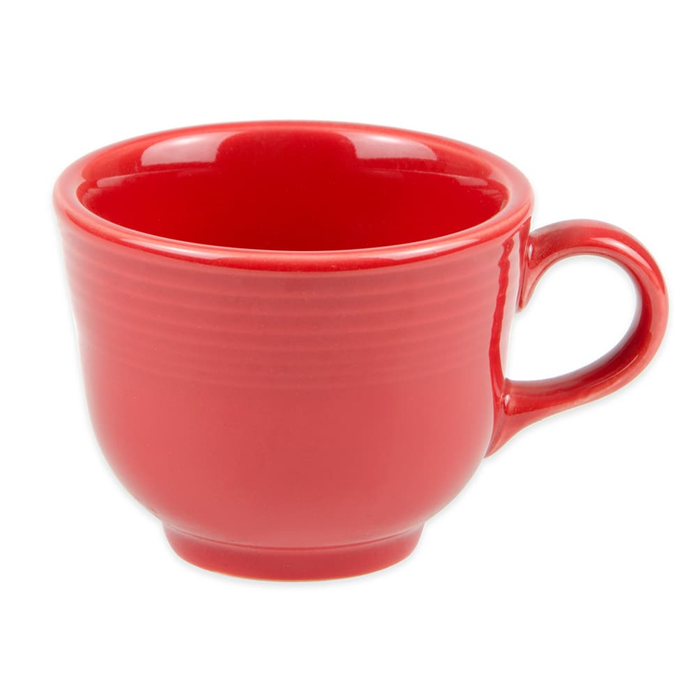 Homer Laughlin 452326 7.75-oz Fiesta Cup - China, Scarlet