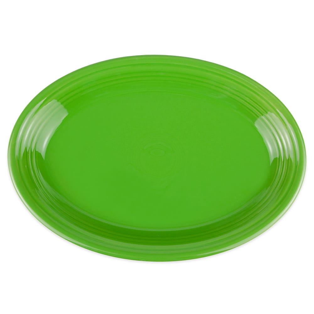 "Homer Laughlin 458324 13.63"" Oval Fiesta Platter - China, Shamrock"