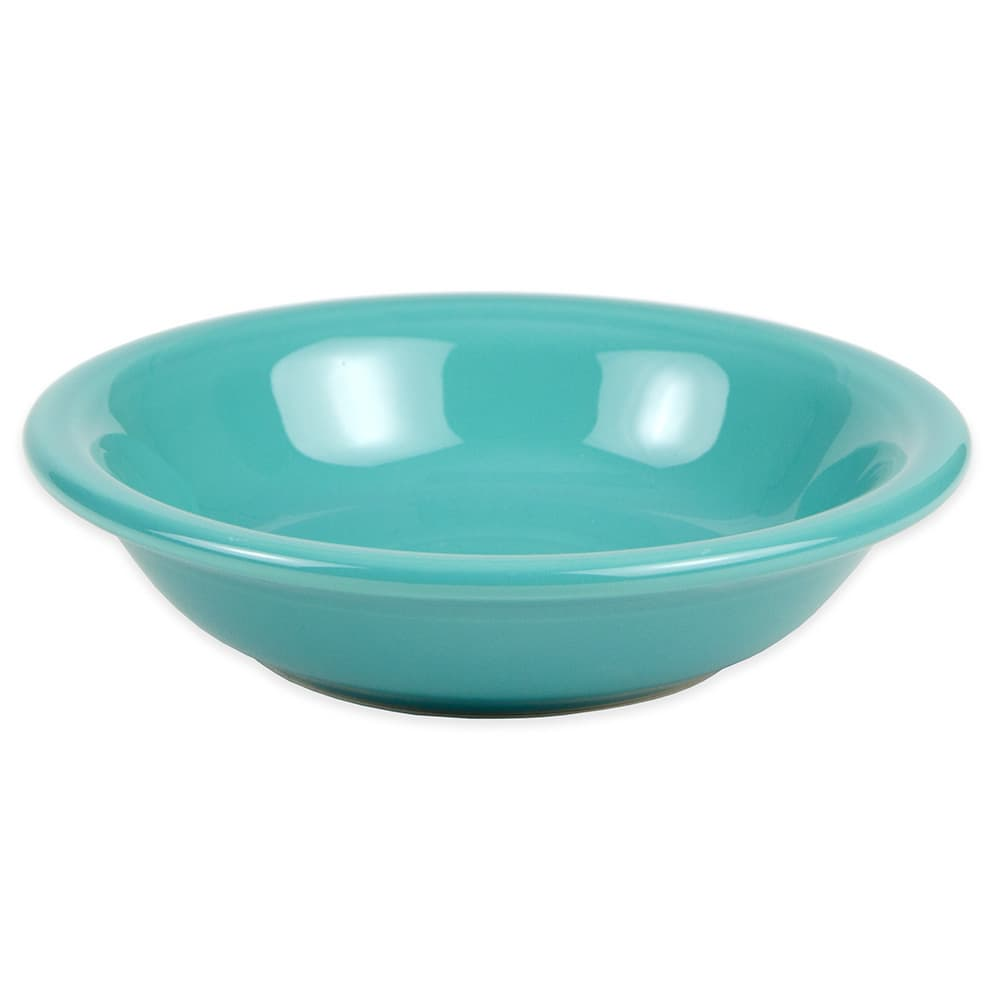 Homer Laughlin 459107 6.25 oz Fiesta Soup Bowl - China, Turquoise