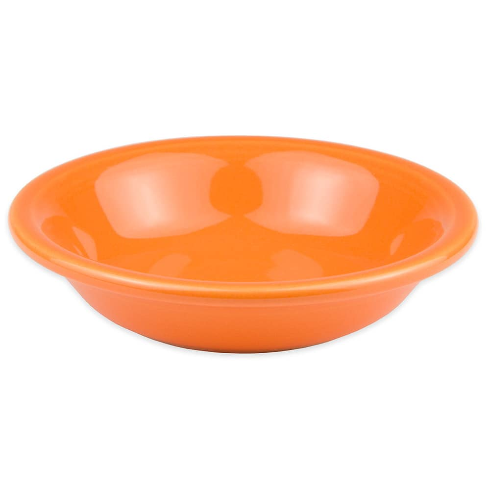 Homer Laughlin 459325 6.25-oz Fiesta Soup Bowl - China, Tangerine