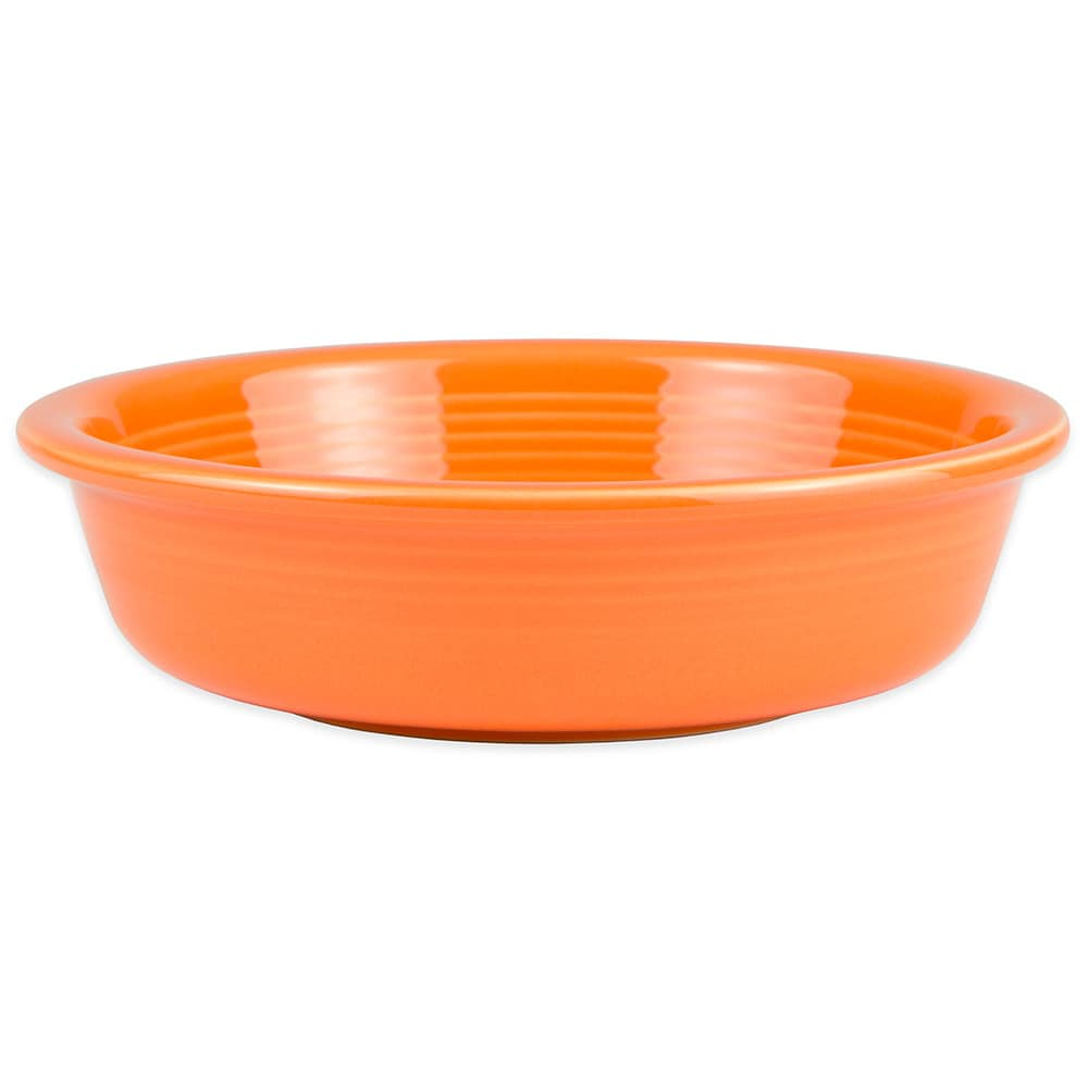 Homer Laughlin 461325 19-oz Fiesta Bowl - China, Tangerine