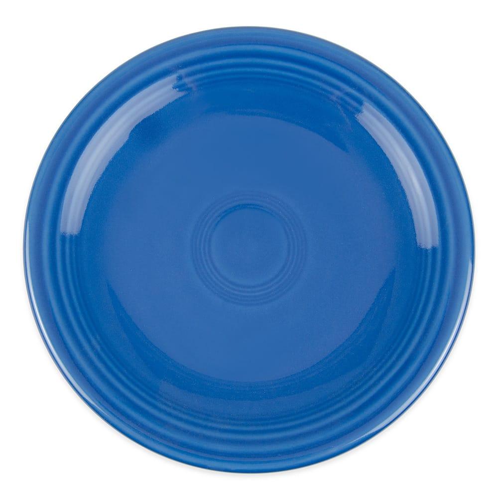 "Homer Laughlin 463337 6.13"" Round Fiesta Plate - China, Lapis"