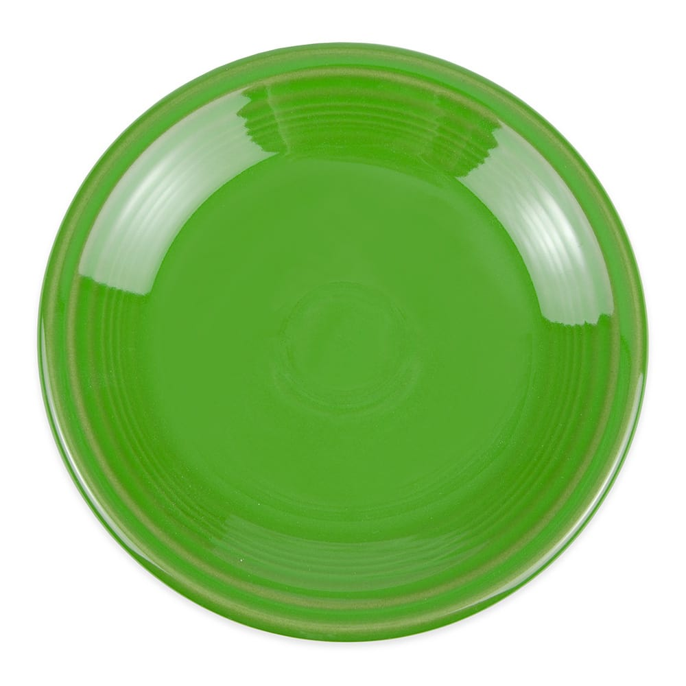 "Homer Laughlin 464324 7.25"" Round Fiesta Plate - China, Shamrock"
