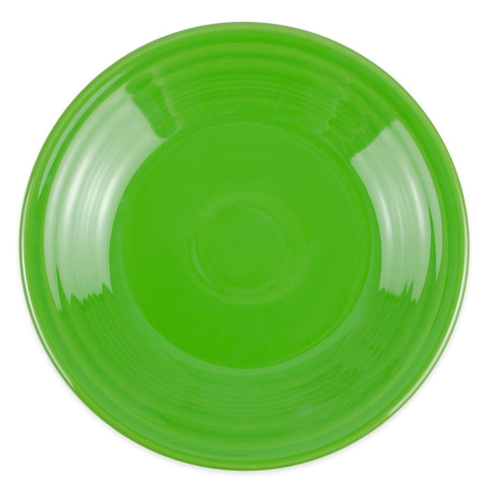 "Homer Laughlin 465324 9"" Round Fiesta Plate - China, Shamrock"