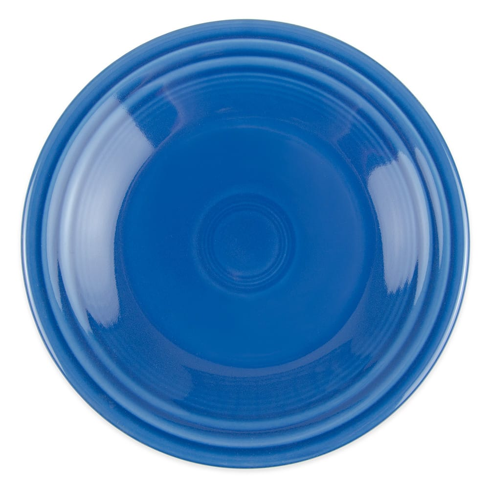 "Homer Laughlin 465337 9"" Round Fiesta Plate - China, Lapis"