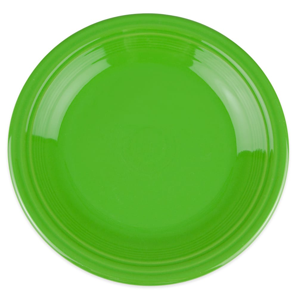 "Homer Laughlin 466324 10.5"" Round Fiesta Plate - China, Shamrock"