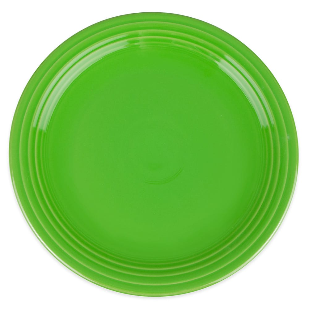 "Homer Laughlin 467324 11.75"" Round Fiesta Plate - China, Shamrock"