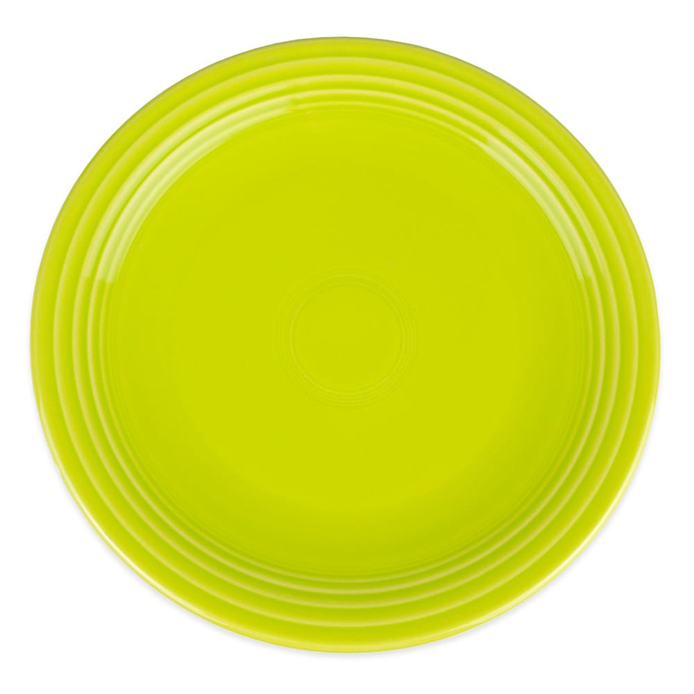 "Homer Laughlin 467332 11.75"" Round Fiesta Plate - China, Lemongrass"