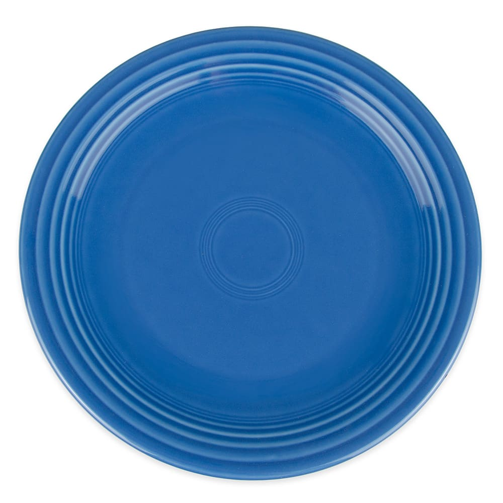 "Homer Laughlin 467337 11.75"" Round Fiesta Plate - China, Lapis"