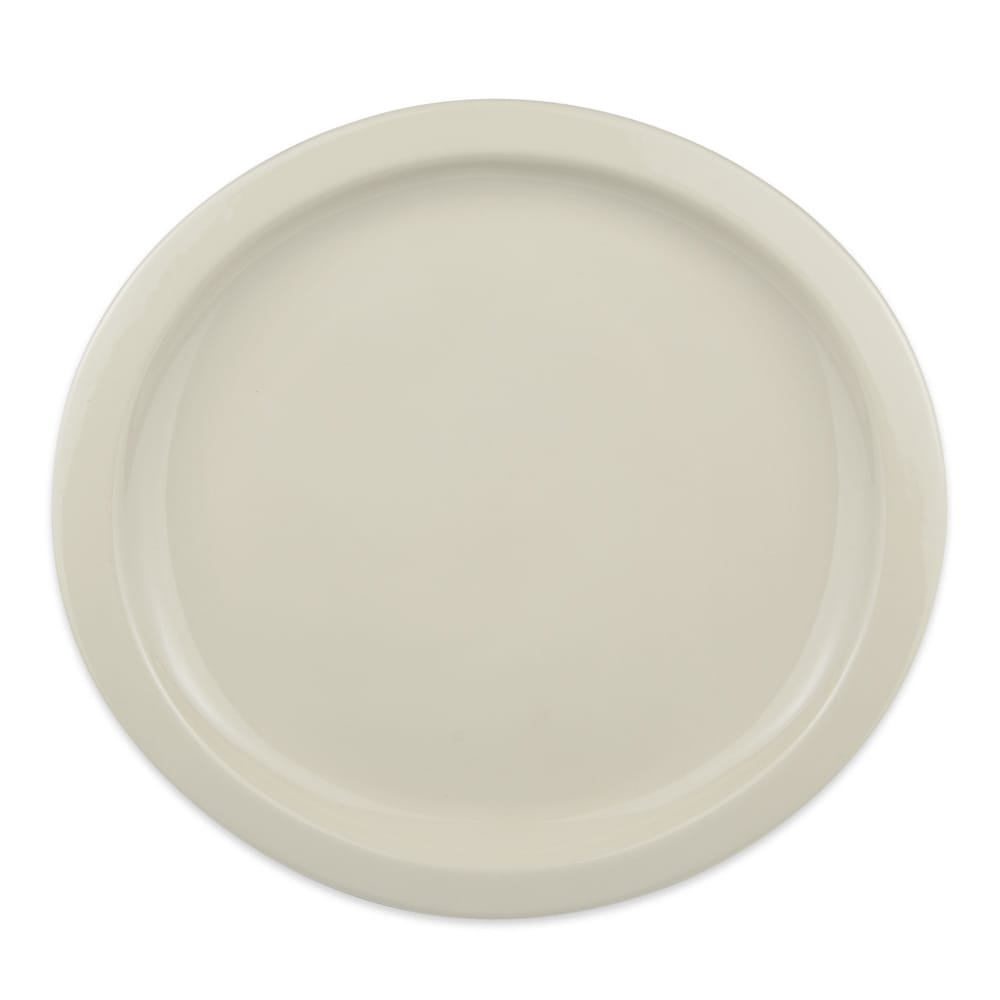 "Homer Laughlin 58800 11.25"" Round Newell Plate - China, Ivory"