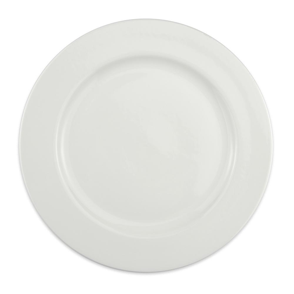"Homer Laughlin 6426000 12.25"" Round Pristine Plate - China, Ameriwhite"