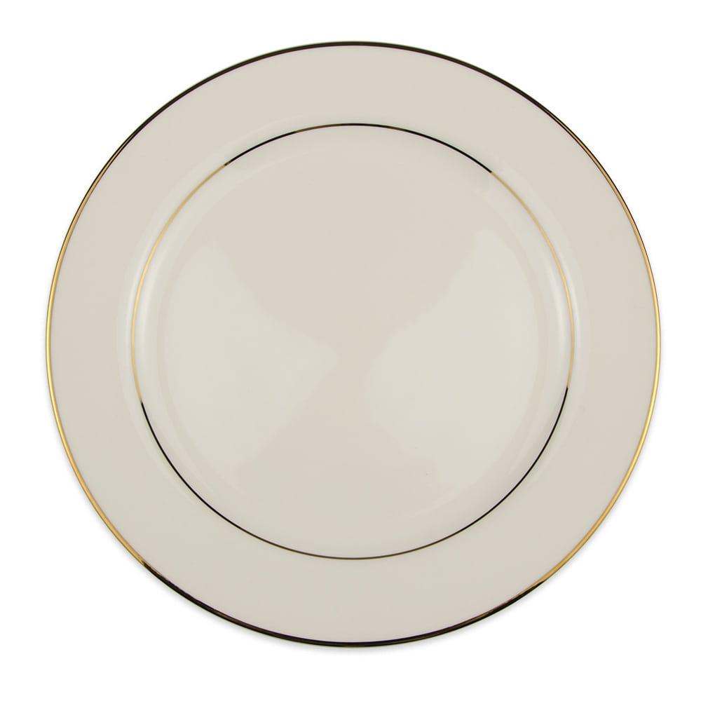 "Homer Laughlin 7101409 12.25"" Round Cavalier Platter - China, Diplomat Gold"